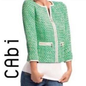 CAbi Clover tweed jacket